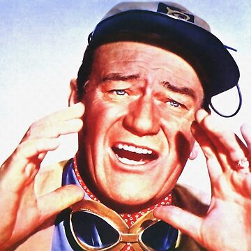 John Wayne in Hatari! by artcinemagaller
