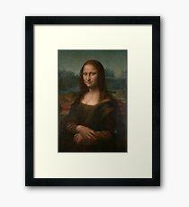 Mona Lisa Leonardo Da Vinci Framed Print