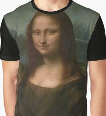 Mona Lisa Leonardo Da Vinci Graphic T-Shirt