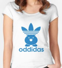 Oddidas Women's Fitted Scoop T-Shirt