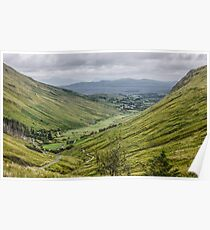 Glengesh Pass - County Donegal, Ireland Poster