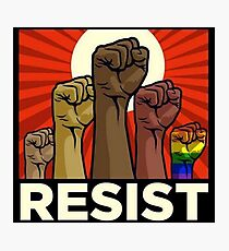 resist Photographic Print