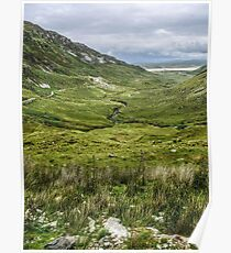 Owenwee River - County Donegal, Ireland Poster