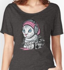 Kitty Tagger Women's Relaxed Fit T-Shirt