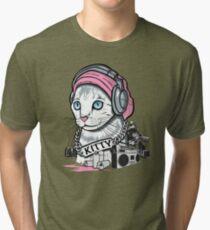 Kitty Tagger Tri-blend T-Shirt