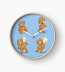 Boy and Ted Clock