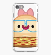 Pizza loving sloth! iPhone Case/Skin