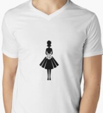 A woman with flowers T-Shirt