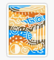 DESERT Sticker