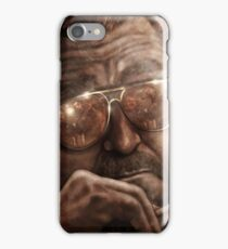 Walter- Jesus Reflection-Lebowski iPhone Case/Skin