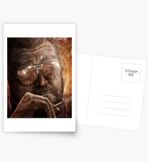 Walter- Jesus Reflection-Lebowski Postcards