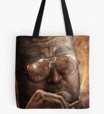 Walter- Jesus Reflection-Lebowski Tote Bag