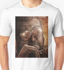 Walter- Jesus Reflection-Lebowski Unisex T-Shirt