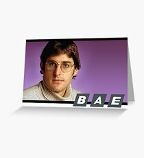 Louis Theroux BAE Greeting Card