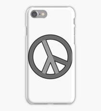 lambda peace gray iPhone Case/Skin