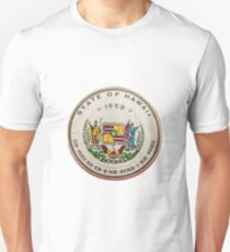 Vintage State Of Hawaii Badge T-Shirt