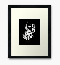 Yippee Ki Yay, Mr. Falcon Framed Print