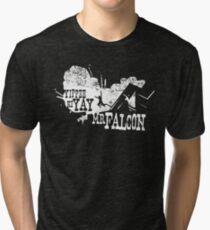 Yippee Ki Yay, Mr. Falcon Tri-blend T-Shirt