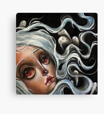 White Spirits :: Pop Surrealism Painting Canvas Print