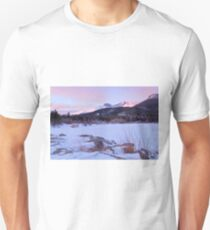 Longs Peak and Lily Lake - Rocky Mountain National Park Unisex T-Shirt