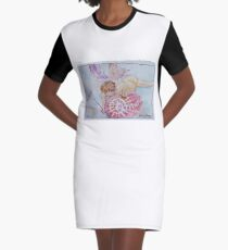 Angel of Truth Graphic T-Shirt Dress