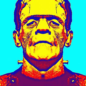 Boris Karloff, aka in The Bride of Frankenstein by artcinemagaller