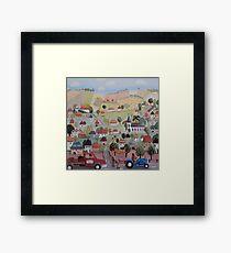 Village Harvest Framed Print