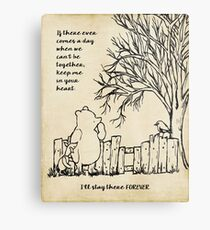winnie the pooh - keep me in your heart Metal Print