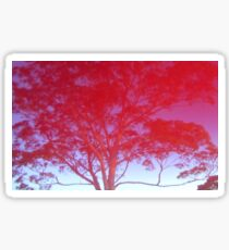 Red Tree Sticker