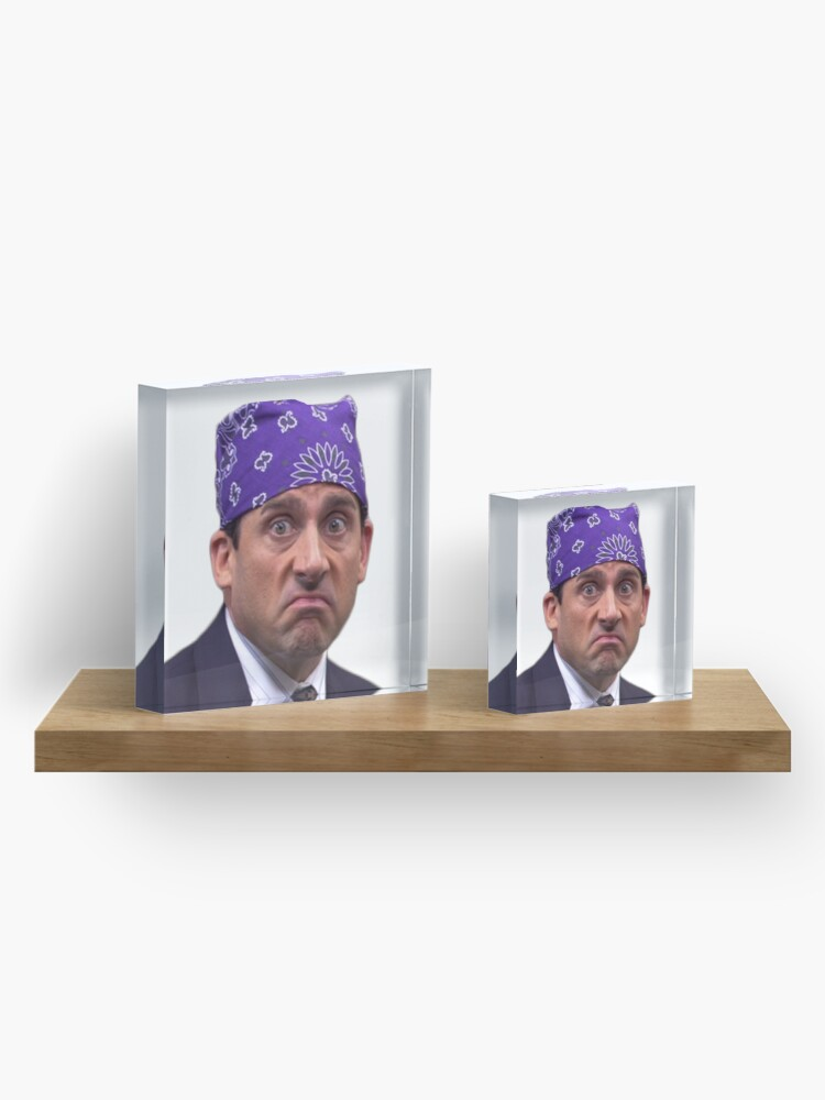 Alternate view of prison mike Acrylic Block