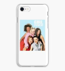 Spice Girls 'GIRL POWER!'  iPhone Case/Skin