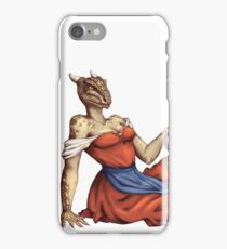Lusty Argonian Maid Pinup 6 iPhone Case/Skin