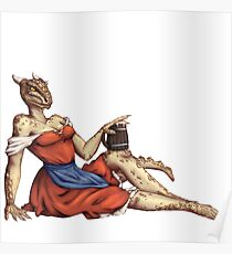 Lusty Argonian Maid Pinup 6 Poster
