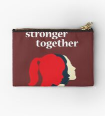 Stronger Together Feminist  Zipper Pouch