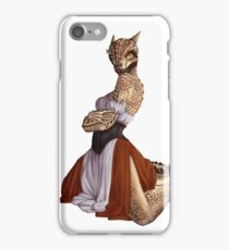 Lusty Argonian Maid Pinup 9 iPhone Case/Skin