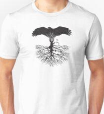 Bird of Pray: Rooted Unisex T-Shirt