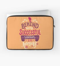 Successful woman Laptop Sleeve