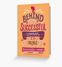 Successful women Greeting Card