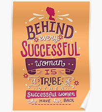Successful women Poster