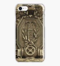 Oil derrick bas iPhone Case/Skin