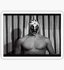 MIL MASCARAS ! Vintage retro wrestling photo 1970's Sticker