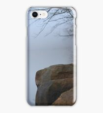 Foggy Morning at the Lake iPhone Case/Skin