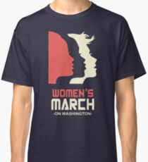 Official Women's March 2017 Tee Classic T-Shirt