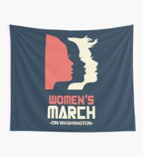 Official Women's March 2017 Tee Wall Tapestry