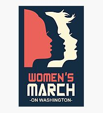 Official Women's March 2017 Tee Photographic Print
