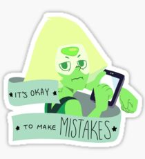 Steven Universe Positivity - Peridot Sticker