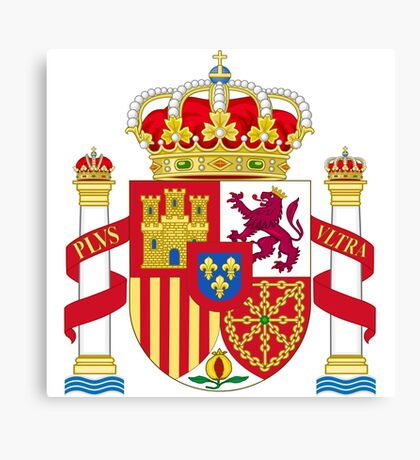 Spainish Coat of Arms Canvas Print