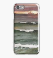 Green Wind-n-Sea La Jolla Sunset iPhone Case/Skin