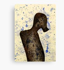 Ink Suit Canvas Print