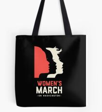 women march Tote Bag